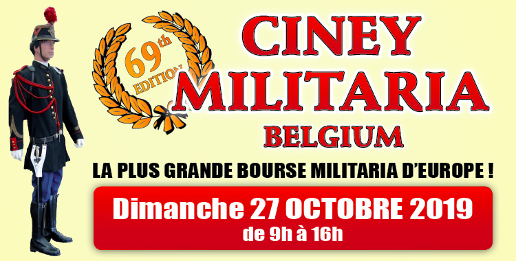 Ciney militaria exhibition