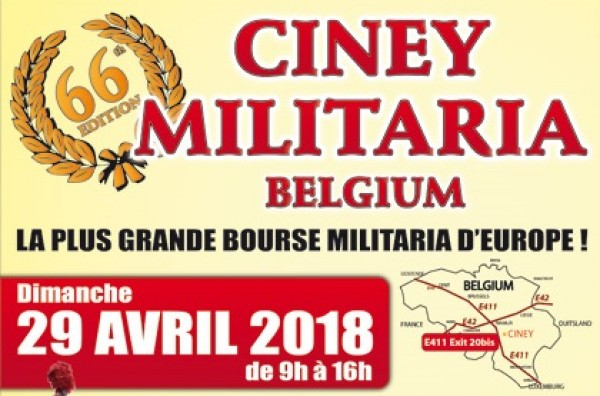 Bourse militaria de Ciney